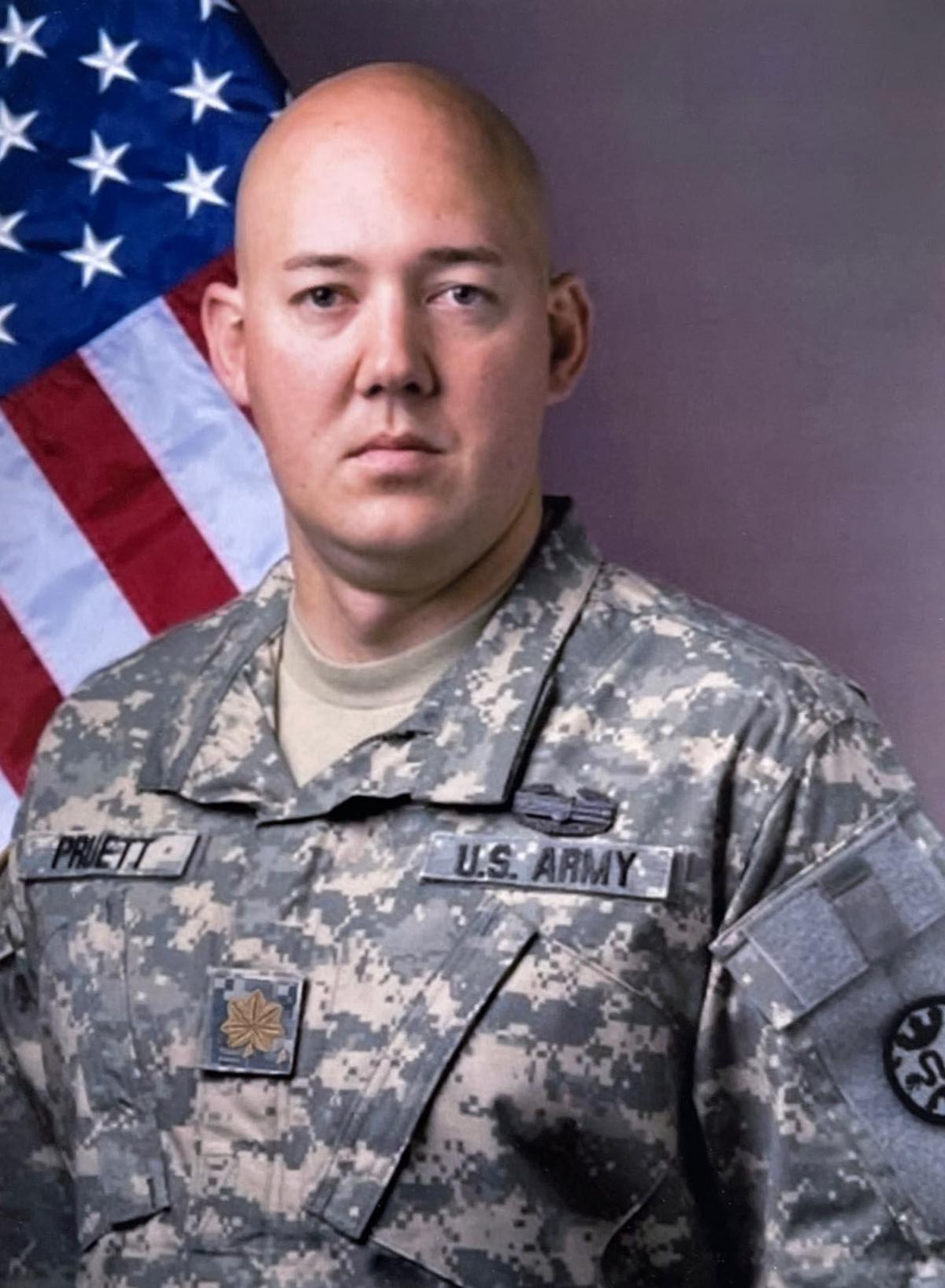 Maj. Eric Pruett