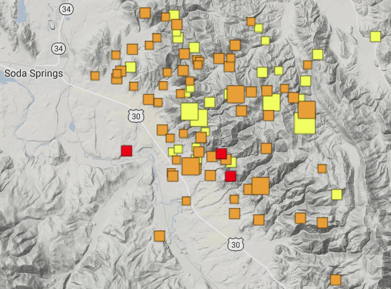 Magnitude 5.3 quake strikes eastern Idaho