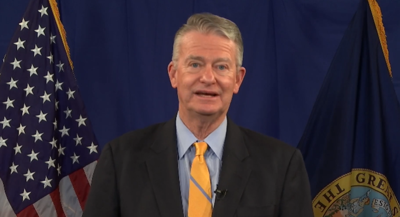 Governor Brad Little holds press conference
