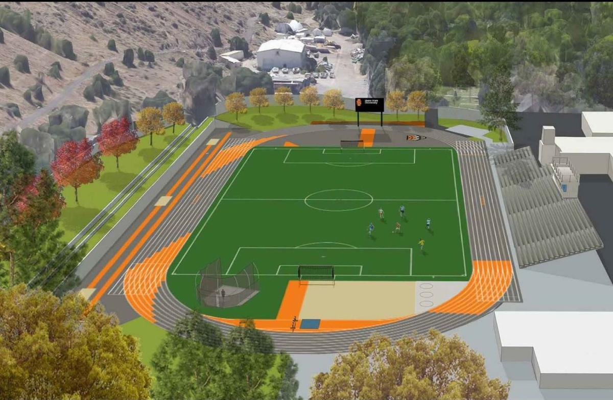 Davis Field rendering