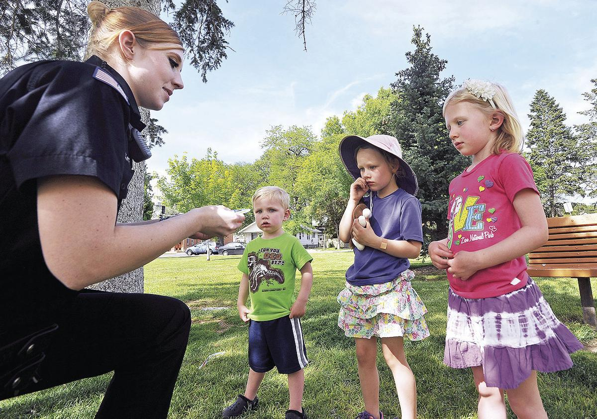 pocatello police on the lookout for children playing safe doing