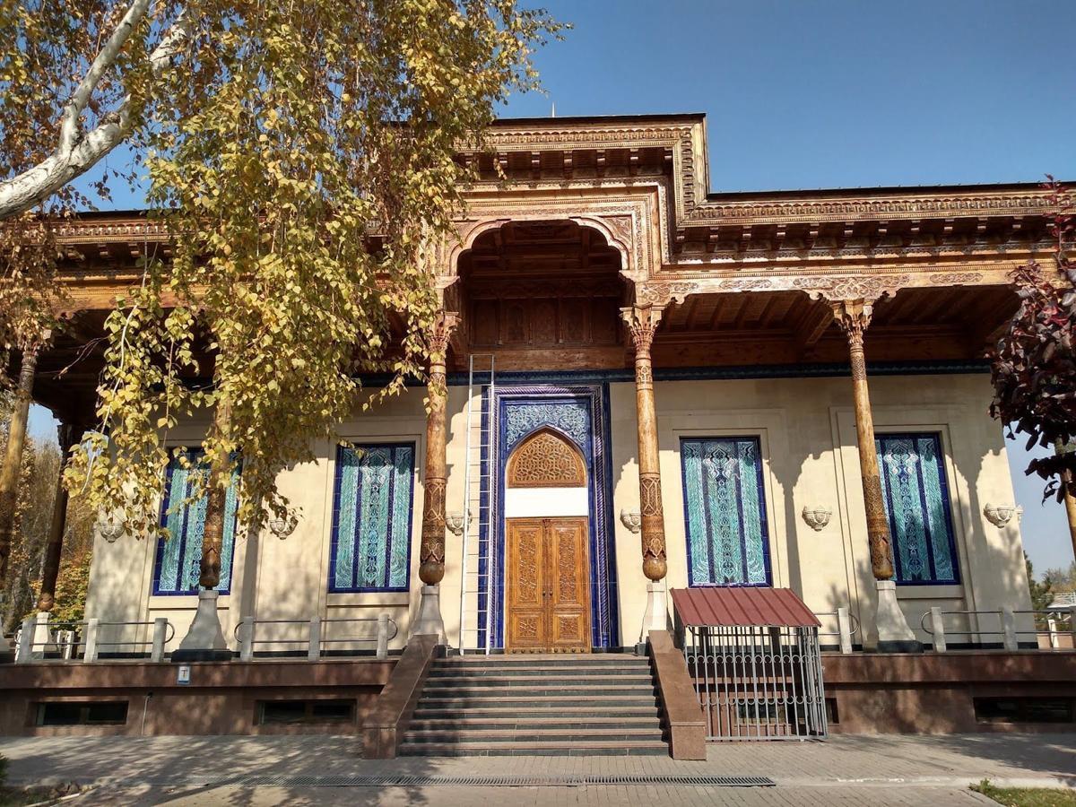 Uzbekistan building