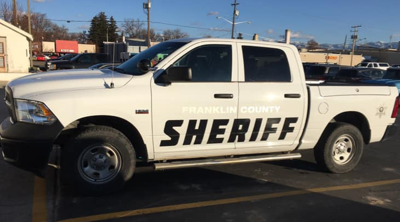 Franklin County Sheriff's Office file photo stock image