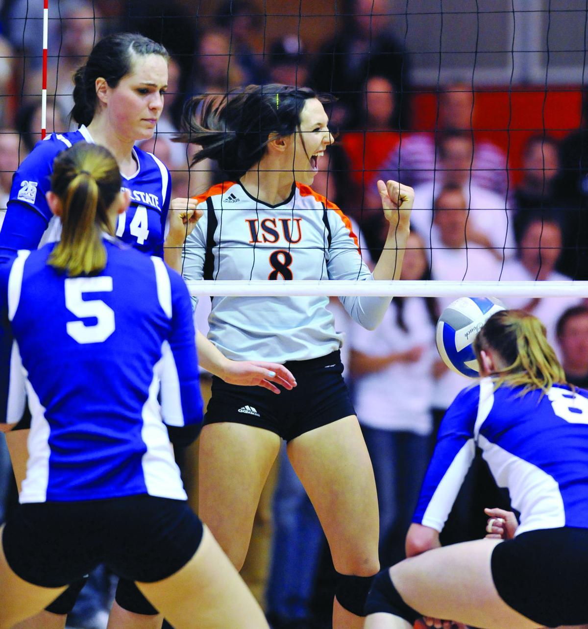 Isu Volleyball Idaho State Volleyball Picked To Win The Big Sky Isu Idahostatejournal Com