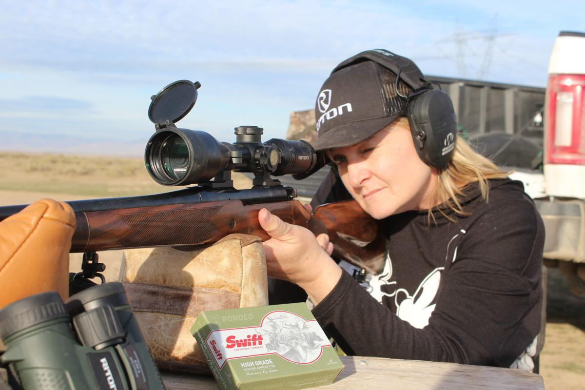Katy sighting in the Mossberg Patriot Revere