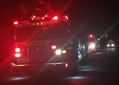 Pocatello Fire Department stock image file photo night (copy)