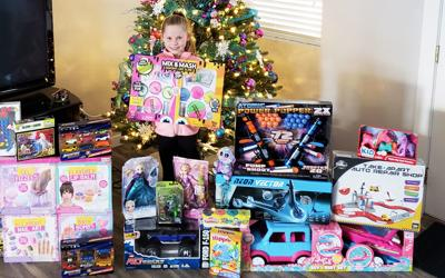 Toys For Tots Kaydence Cluff