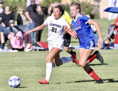 Pocatello Century girls soccer