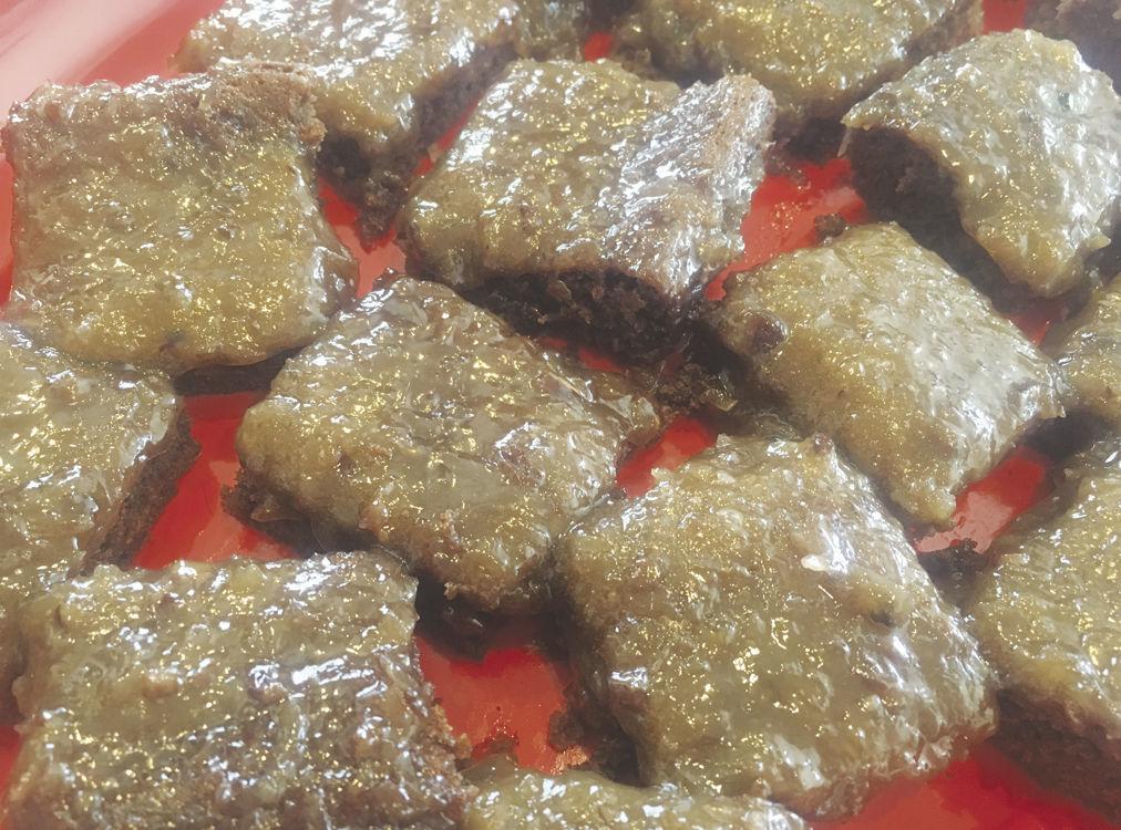 Belle's German Chocolate Brownies