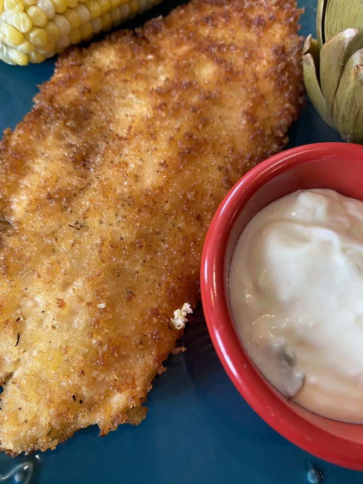 Belle's Pan-fried Trout