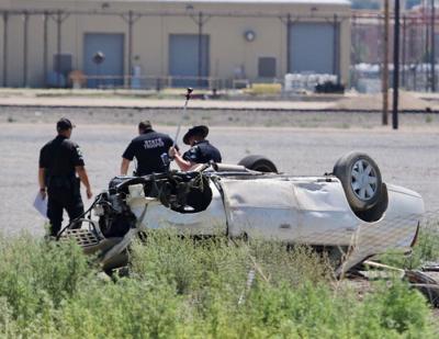 Day Street vehicle pursuit crash