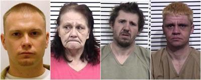 Trevor Van Horn, Debra Trujillo, Robert Winterholler and Jesse Kirby