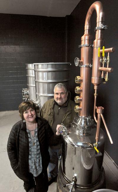 New Pocatello distillery