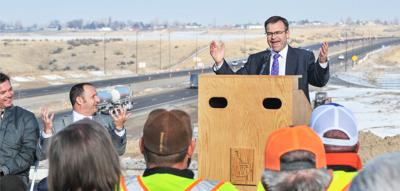 Ribbon cutting for new Siphon interchange