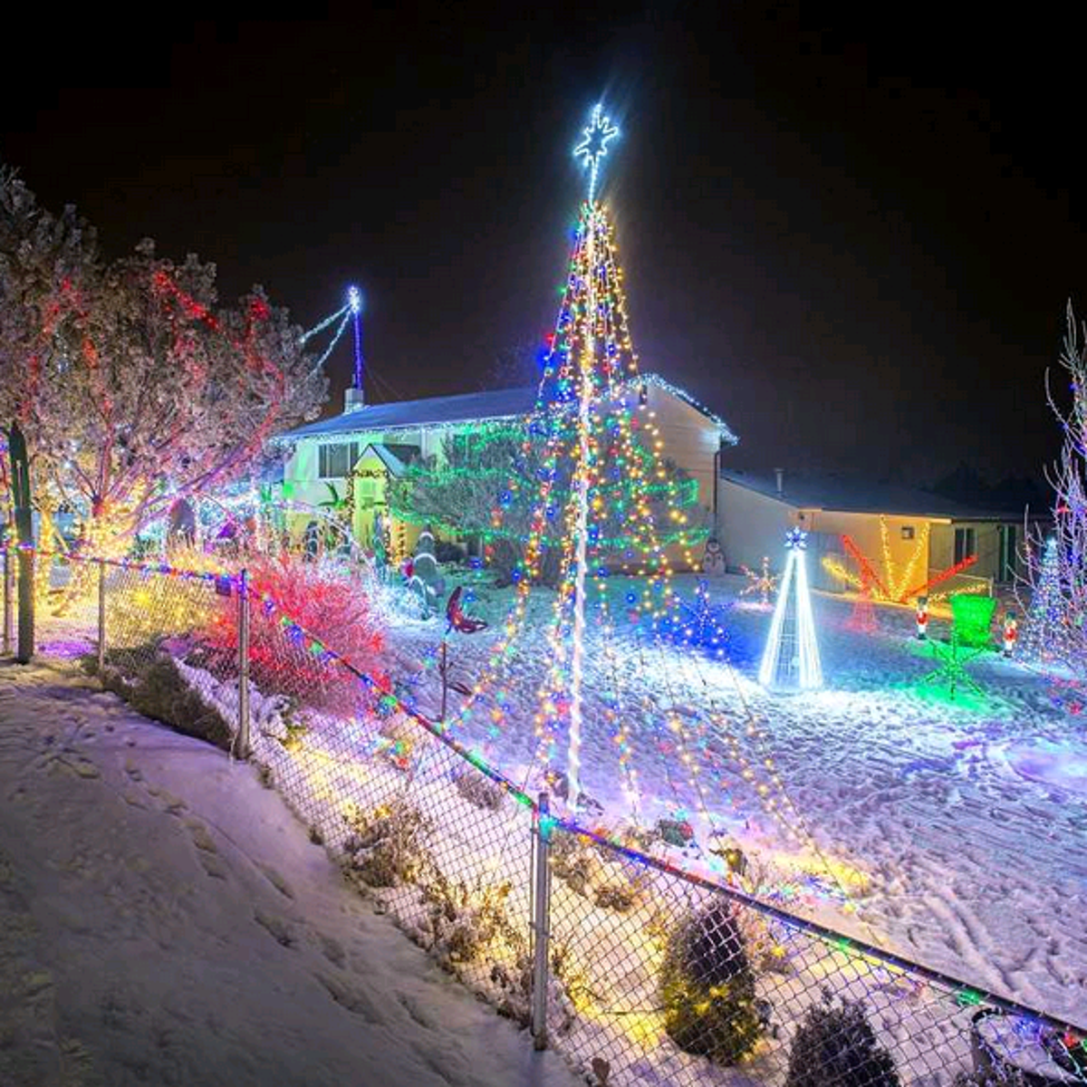 Local Christmas light displays worth