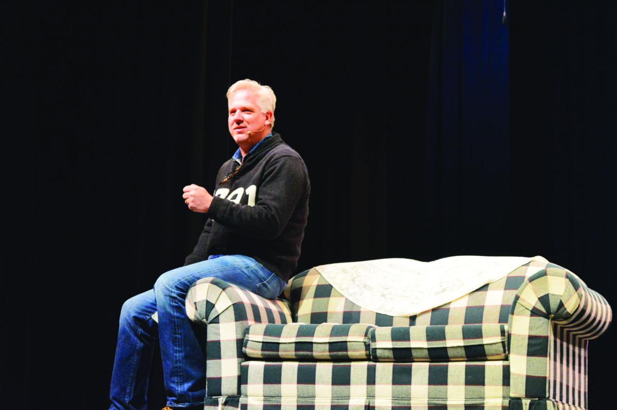 Christmas Sweater By Glenn Beck.Glenn Beck Pays A Christmas Visit To Franklin County