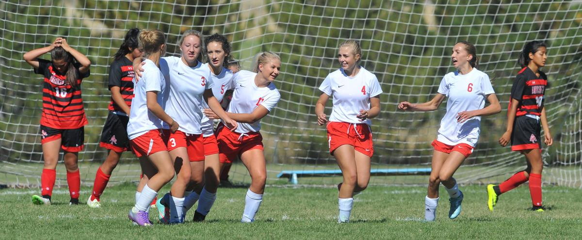 american falls girls Girls soccer american falls 3, malad 1 american falls scored two unanswered goals to clinch a 3-1 home win wednesday against malad .