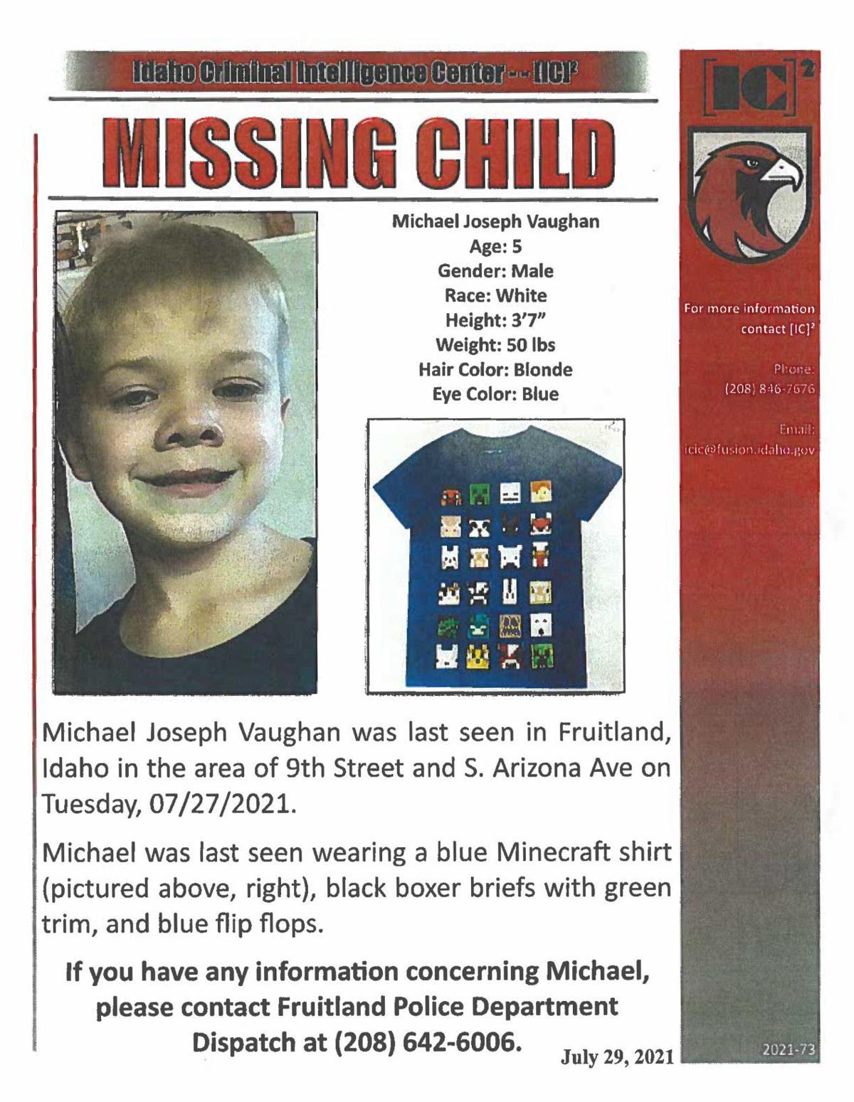 Idaho Missing Boy