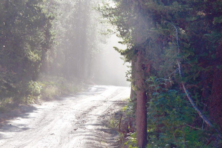 Flagg Ranch Road