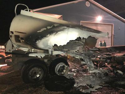 Fuel tanker truck explosion