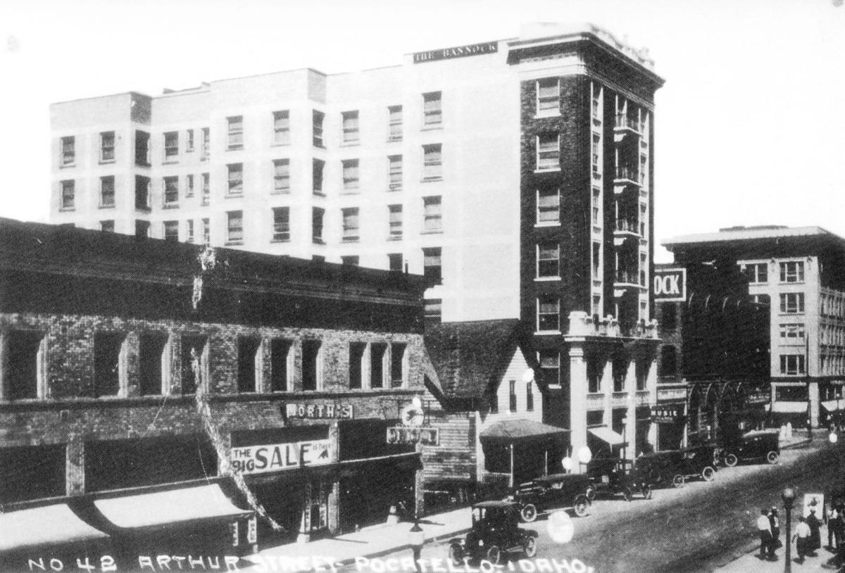 History Of Bannock Hotel In Pocatello