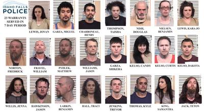 Police serve 23 warrants for wanted criminals | Local