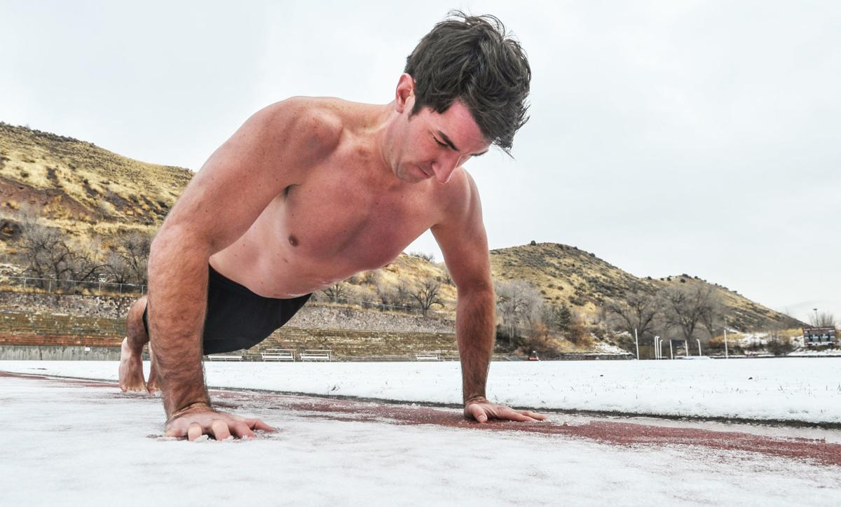 Jeff Zausch North Pole pushups