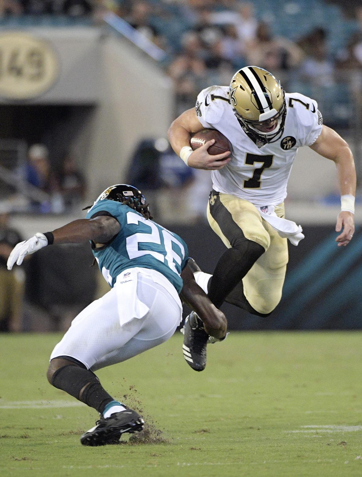 New Orleans Saints' Taysom Hill scores touchdown, shows ...Taysom Hill Kids