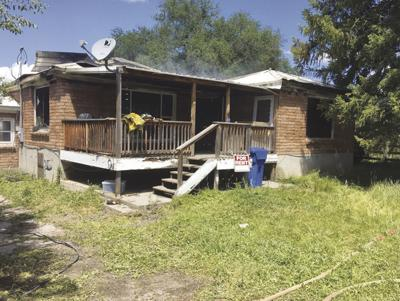 Fire damages home in Arimo