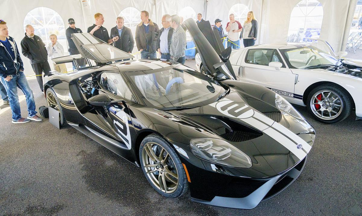 A  Ford Gt Sells For Half Million