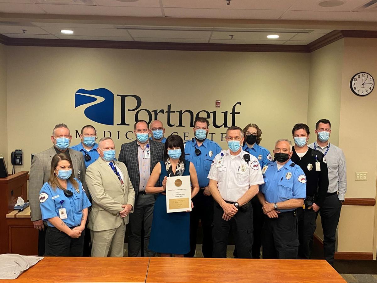 Portneuf Medical Center security team and leadership