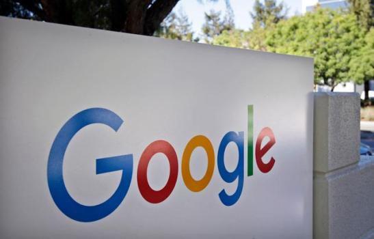 Sign at Google headquarters