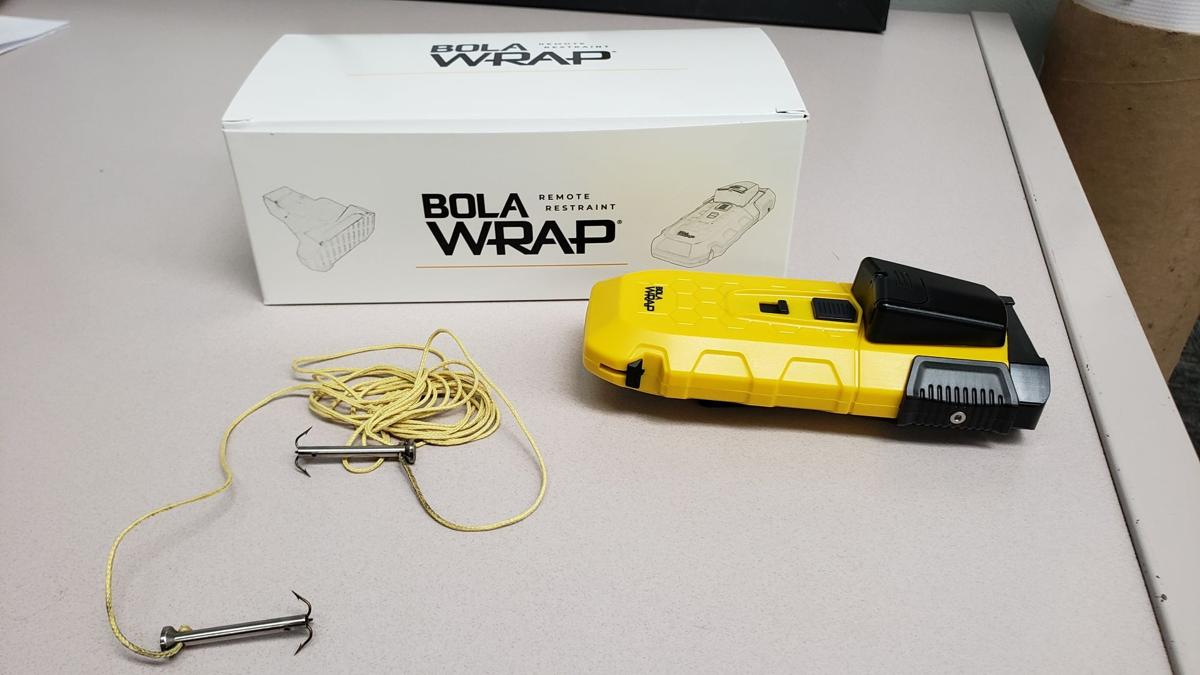 PPD BolaWrap restraint device