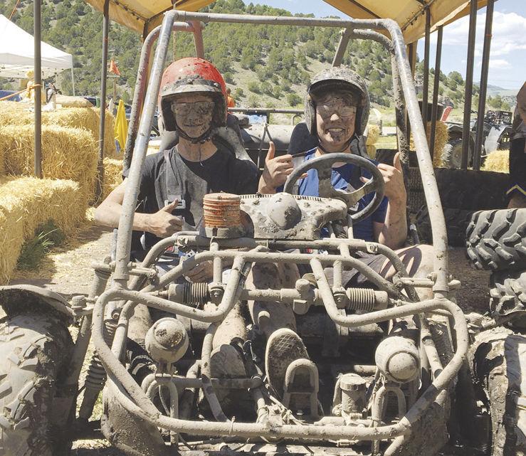 Pocatello teens enjoy ride on track at Lava Hot Go-Karts near Lava Hot Springs