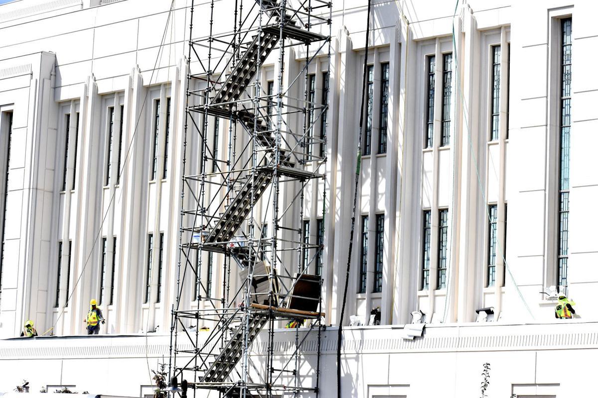 Rexburg Temple to undergo unexpected repairs during annual maintenance