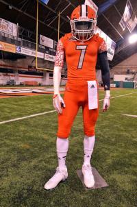 Video Idaho State Football S New Orange Uniform