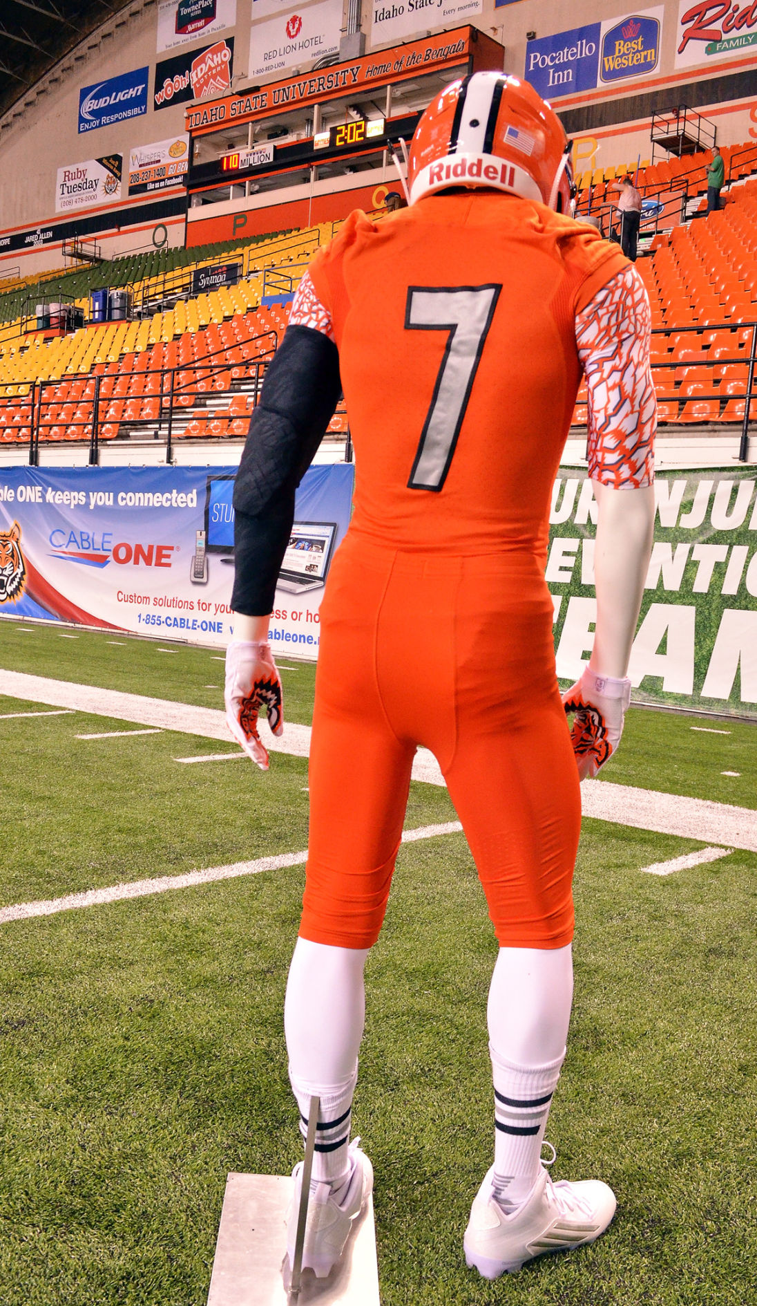 Isu Football A Fresh Look Idaho State Unveils New All Orange