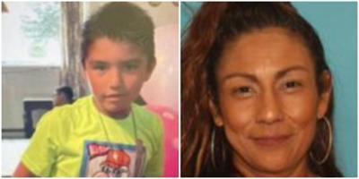 Kingston James Solis and Lucy Elena Mendoza (amber alert)