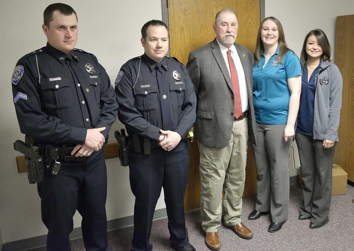 Bingham County Sheriff's Office honors those who saved man's