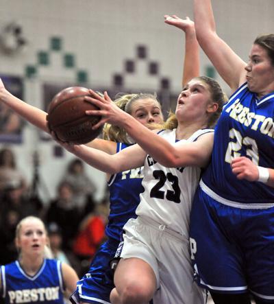 CHS vs Preston girls basketball