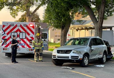 Crash near ISU