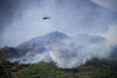 Wildfires Utah