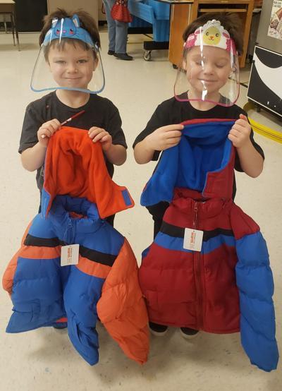Kindergarteners from Tendoy Elementary