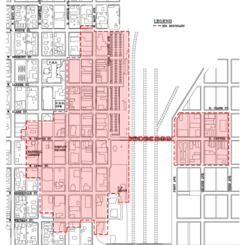 Old Town Pocatello Business Improvement District