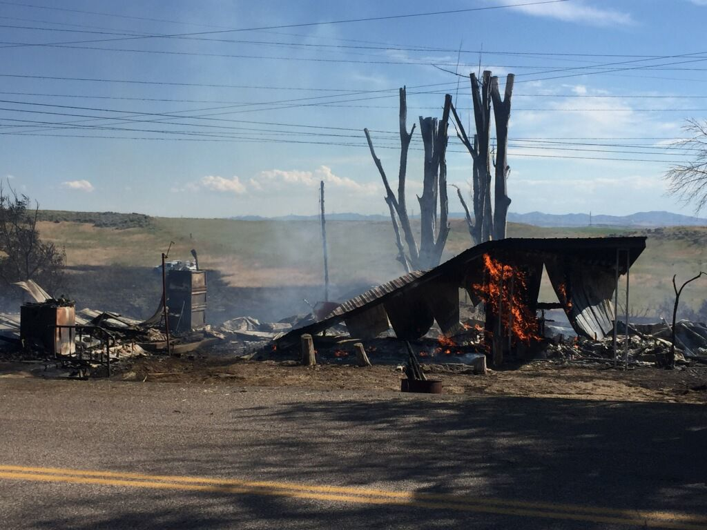 Wildfires scorch large parts of East and South Idaho