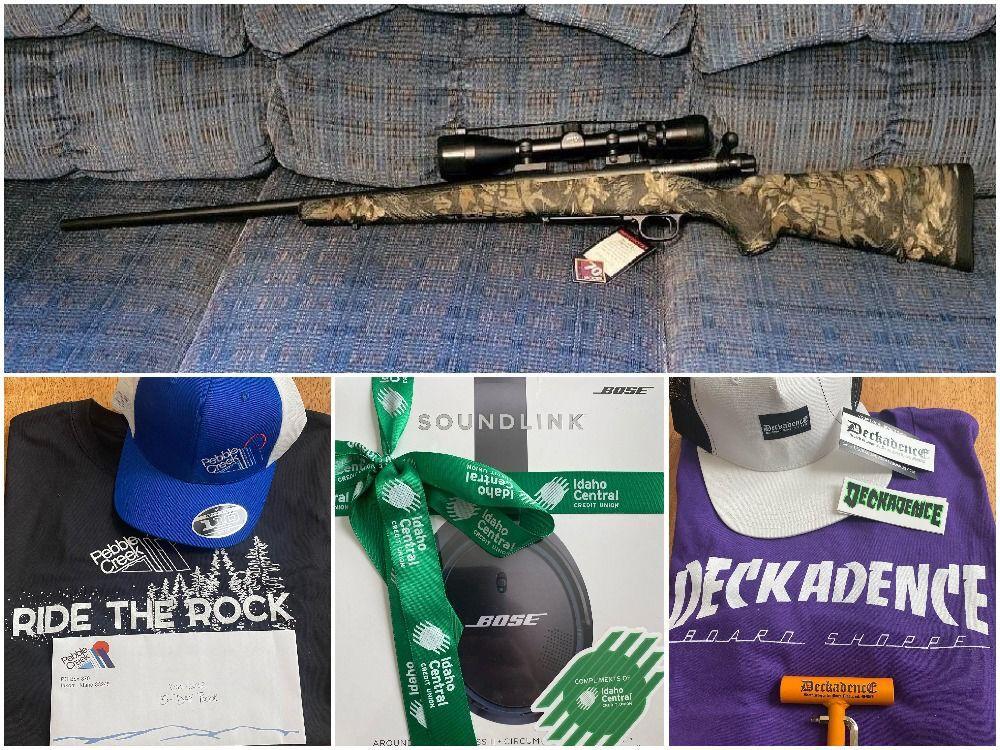 Arik Mayer auction items collage