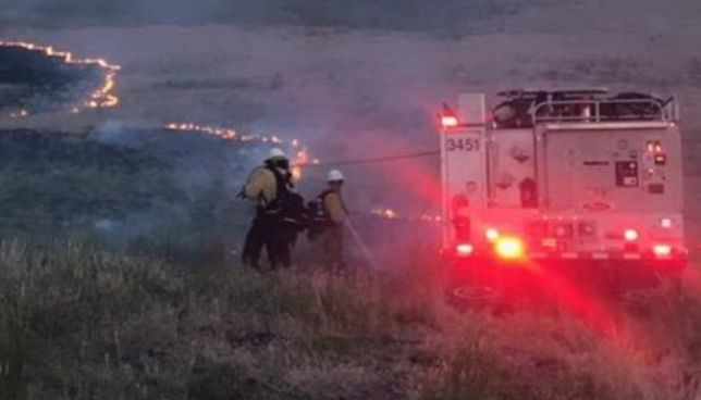 Firefighters get the edge on three East Idaho wildfires | Local
