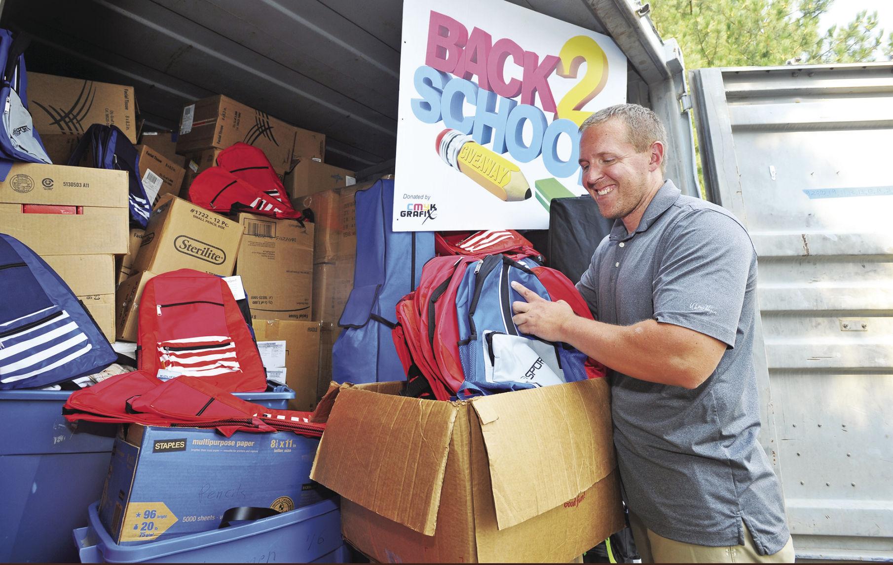 Salvation Army Back 2 School Bash