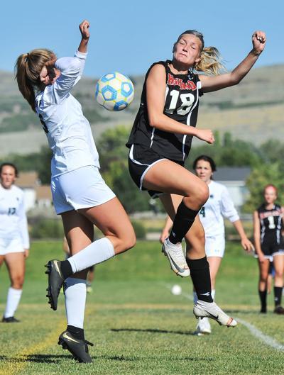 HHS vs Wood River girls soccer