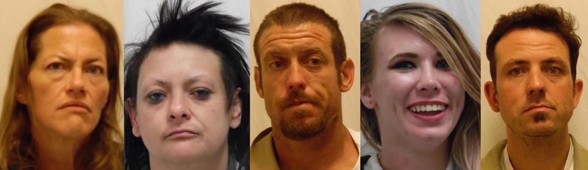 Pocatello police: 5 arrested for meth possession in separate incidents